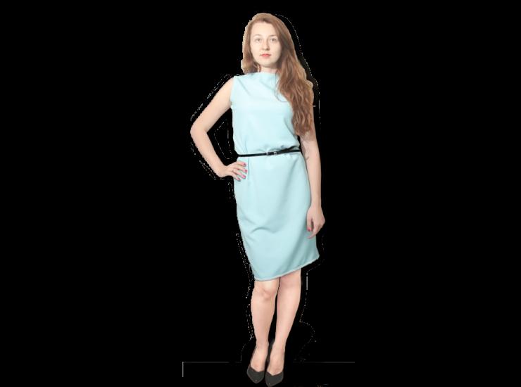 Crêpe Georgette Dress | Evening