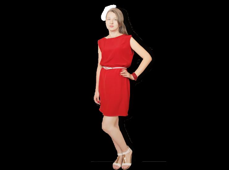 Satin Dress | Daily