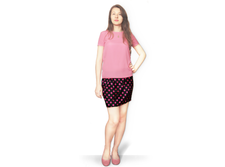 Satin Skirt | Daily