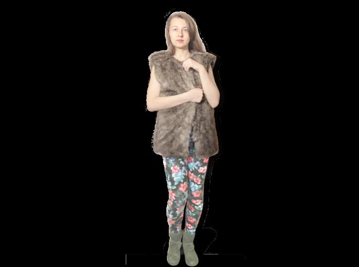 Art. Fur Vest | No-Freeze